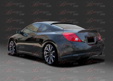 magic nissan service 2008 2011 nissan altima coupe imp style rear bumper ait