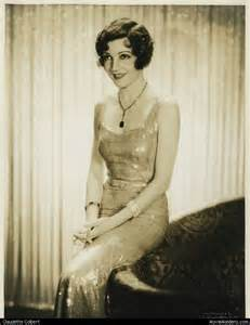 Claudette colbert 1930s actress when she was young