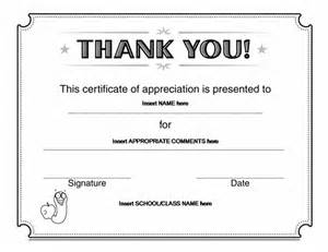 thank you certificate template word best photos of free certificates of appreciation