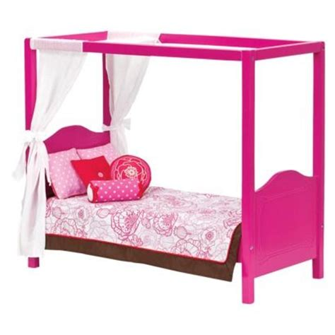 our generation doll bed our generation my sweet canopy bed pink