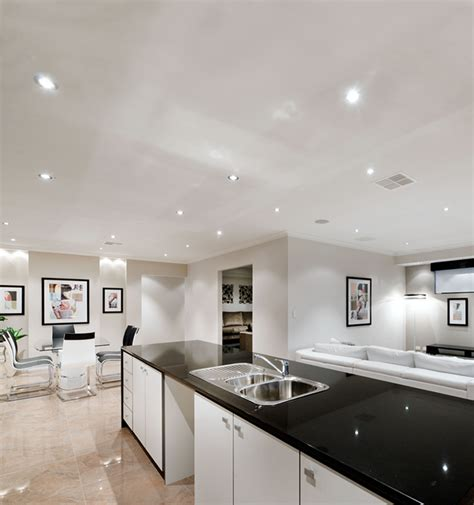 Kitchen Designs Pictures Free bright lighting ideas for your home clipsal by schneider