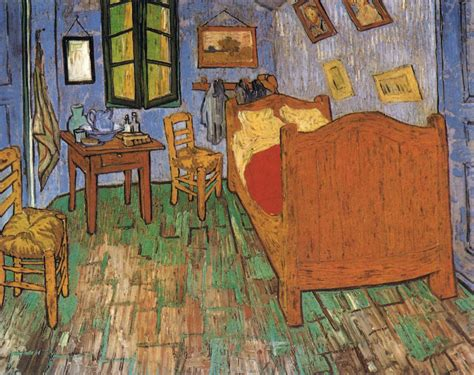 the bedroom of arles vincent s bedroom in arles by gogh vincent van