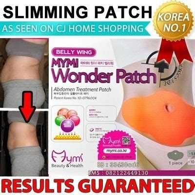 Mymi Patch Slimming Patch Paha korea mymi slimming patch koyo pelangsing dari korea belly wing up and low