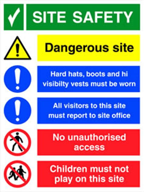 Baustellenschild Englisch by Construction Site Safety Signs Warning Sign Suppliers Uk