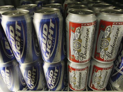 budweiser and bud light bud light just made a drastic change business insider