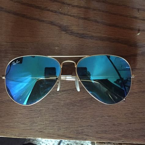Kacamata Rayban Aviator Flashes Lensa Pink Special Edition ban blue flash lenses