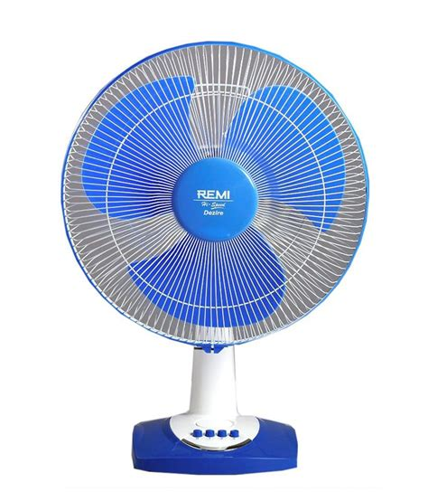 fans of remi fans 400 mm dezire table fan hi speed price in india