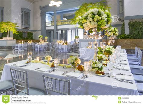 wedding table ideas photos wedding table decorations stock photo image of linens