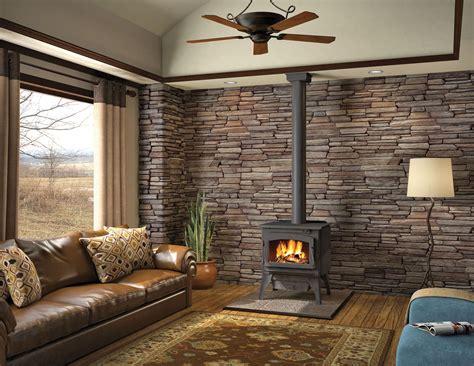 Woodstoves And Fireplaces Estufas De Le 241 A Para Una Decoraci 243 N R 250 Stica