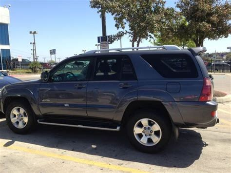 how to sell used cars 2004 toyota 4runner electronic toll collection sell used 2004 toyota 4runner limited sport utility 4 door