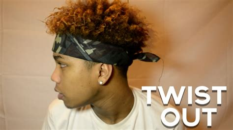 hair twisting boys hair how to do black men s twist out tutorial easy doovi