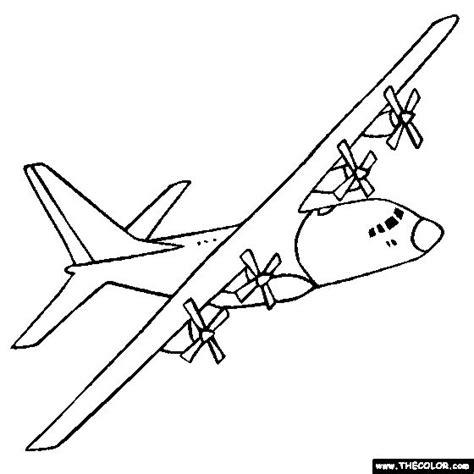 coloring pages airplanes military c 130 hercules drawings lockheed c 130 hercules military