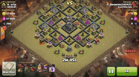 clash of clan th 9 war base kumpulan base war clash of clans th 9 idgamer
