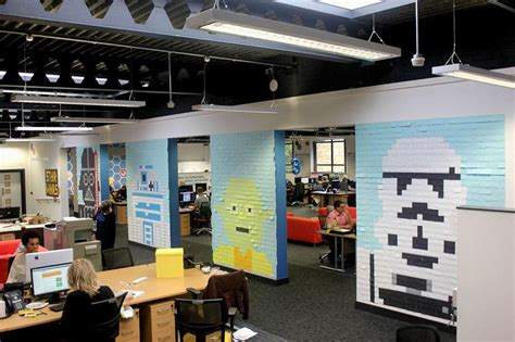 star wars office workers use 3 579 post it notes to turn boring office