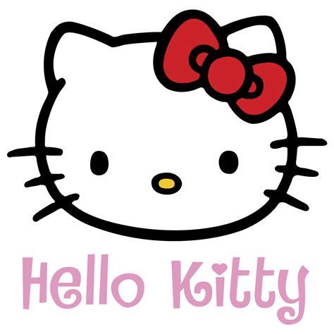 inkscape tutorial hello kitty hello kitty logo vector free vector silhouette graphics