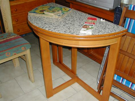 Half Moon Kitchen Table Opens Out Nerja Household Centre