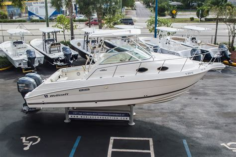 wellcraft used boat parts used 2007 wellcraft 270 coastal boat for sale in west palm