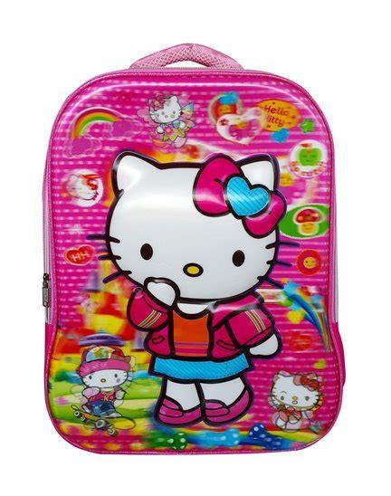 Tas Ransel Hello Merah tas sekolah untuk anak sd toko bunda