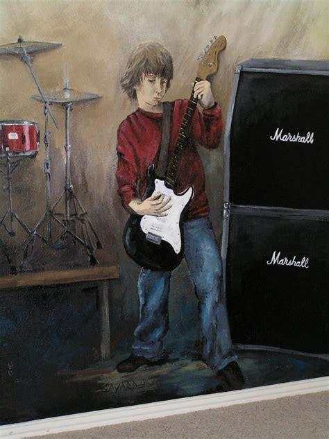 band theme mural 2 of 3 savard creative design