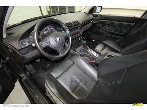 black interior 2002 bmw 5 series 525i sedan photo
