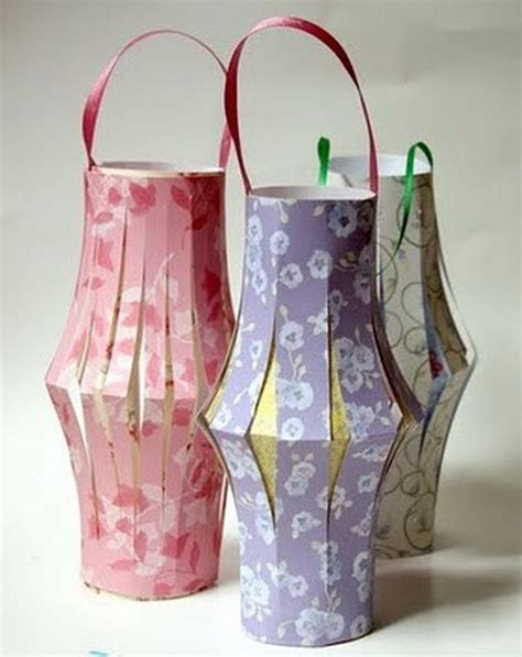 Paper Lantern Craft Ideas - diy paper craft home d 233 cor ideas decozilla