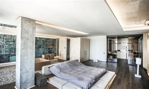 How To Lower Ceiling Height by A Maisonnette In The Center Of Kiev With A Loft Interior