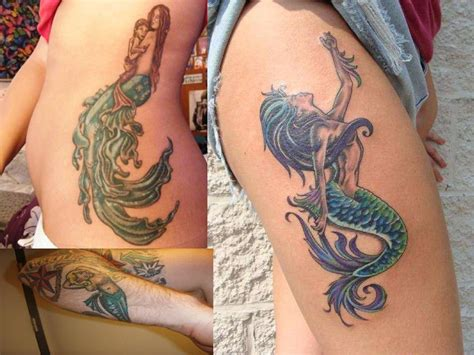 mermaid tattoos infinity designs mermaid tattoos