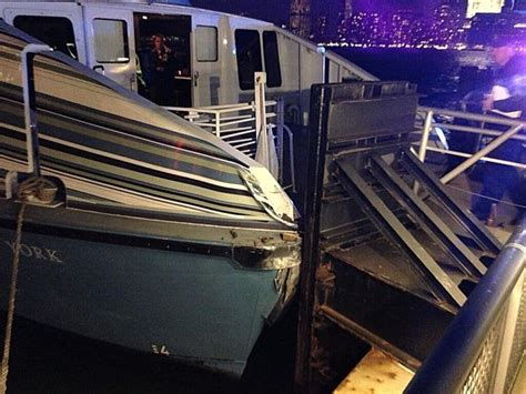boat crash nj jersey city ferry crash injures 7