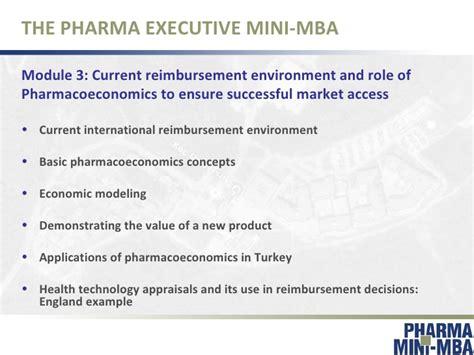 Executive Mba In Pharmaceutical Management by Pharma Executive Mini Mba