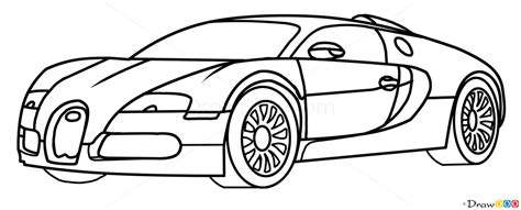 learn how to draw bugatti veyron sports cars step by how to draw bugatti veyron supercars how to draw