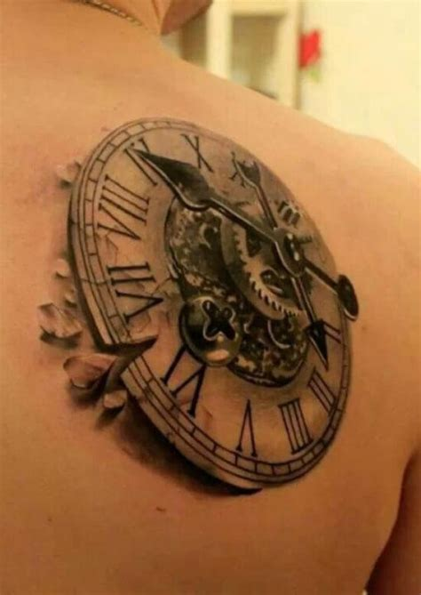 mechanical watch tattoo 67 incredible mechanical tattoos