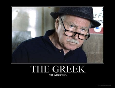 The Wire Meme - of course i am not even greek cool shit pinterest