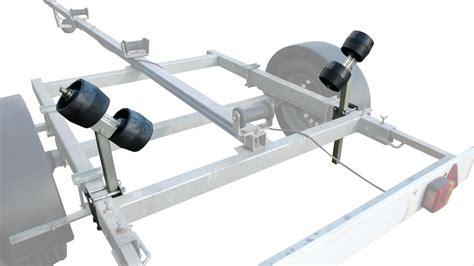 boottrailer rollen rubberen standaard kimrollen set kimrollen boottrailer