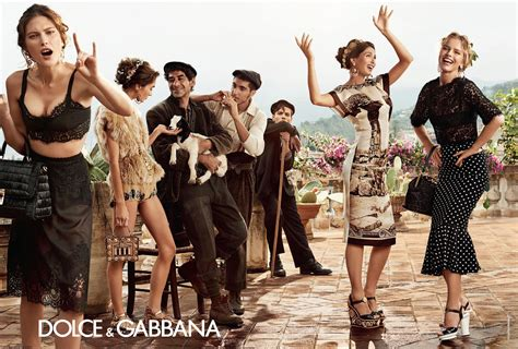 dolce gabba dolce gabbana summer 2014 caign fab fashion fix