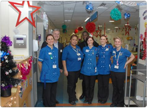 christmas decorations in hospital wards best decorated ward winners announced chelsea and westminster hospital nhs foundation trust