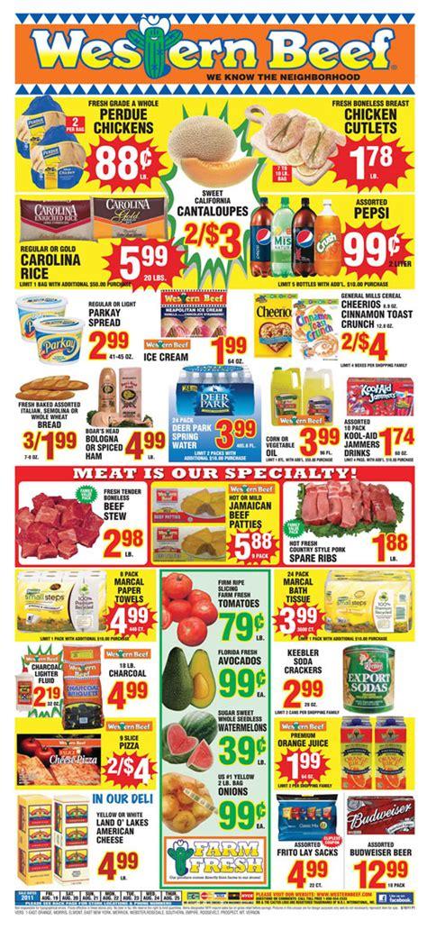 western beef weekly circular grocery store