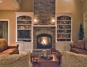 Amazing Outdoor Fireplaces - faux stone fireplaces contemporary family room dc metro by faux stone depot