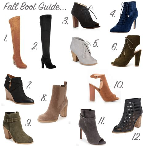 fall 2016 boot guide otk boots ankle boots on