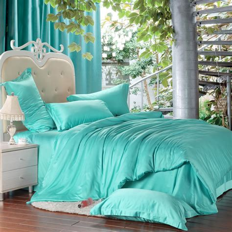 how to buy bedding aliexpress com buy luxury turquoise blue green bedding