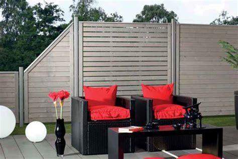 moderne sichtschutzzäune naturstein design zaun
