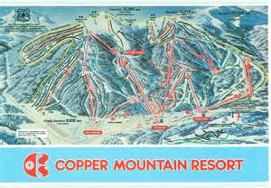 copper mountain resort trail map ski butlers