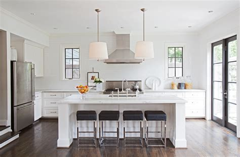 bar stools for white kitchen black leather chrome bar stools transitional kitchen