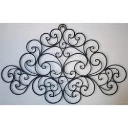 Large Wrought Iron Wall Decor by Large Wall Decor Large Wrought Iron Wall Decor Iron