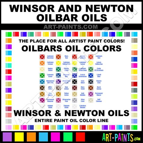 winsor and newton oilbars paint colors winsor and newton oilbars paint colors oilbars