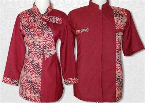Kain Polos Tenun ッ 40 model baju batik kombinasi kain polos embos sifon brokat bolero