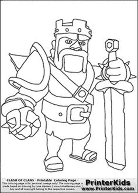 bb king coloring page clash clans how to draw royale caca pinterest dibujo