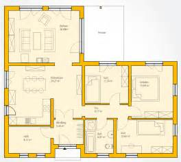 haus guenstig bungalow w 126 ytong massivhaus bauen