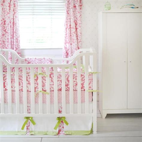 pink and green bedding pink and green baby bedding i new arrivals inc