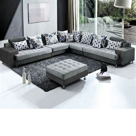 divani con pouf divano angolare desire 325x250 con pouf centrale in