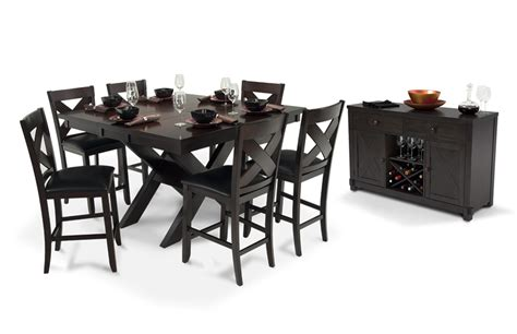black dining room set with bench dining room large black dining room table for small